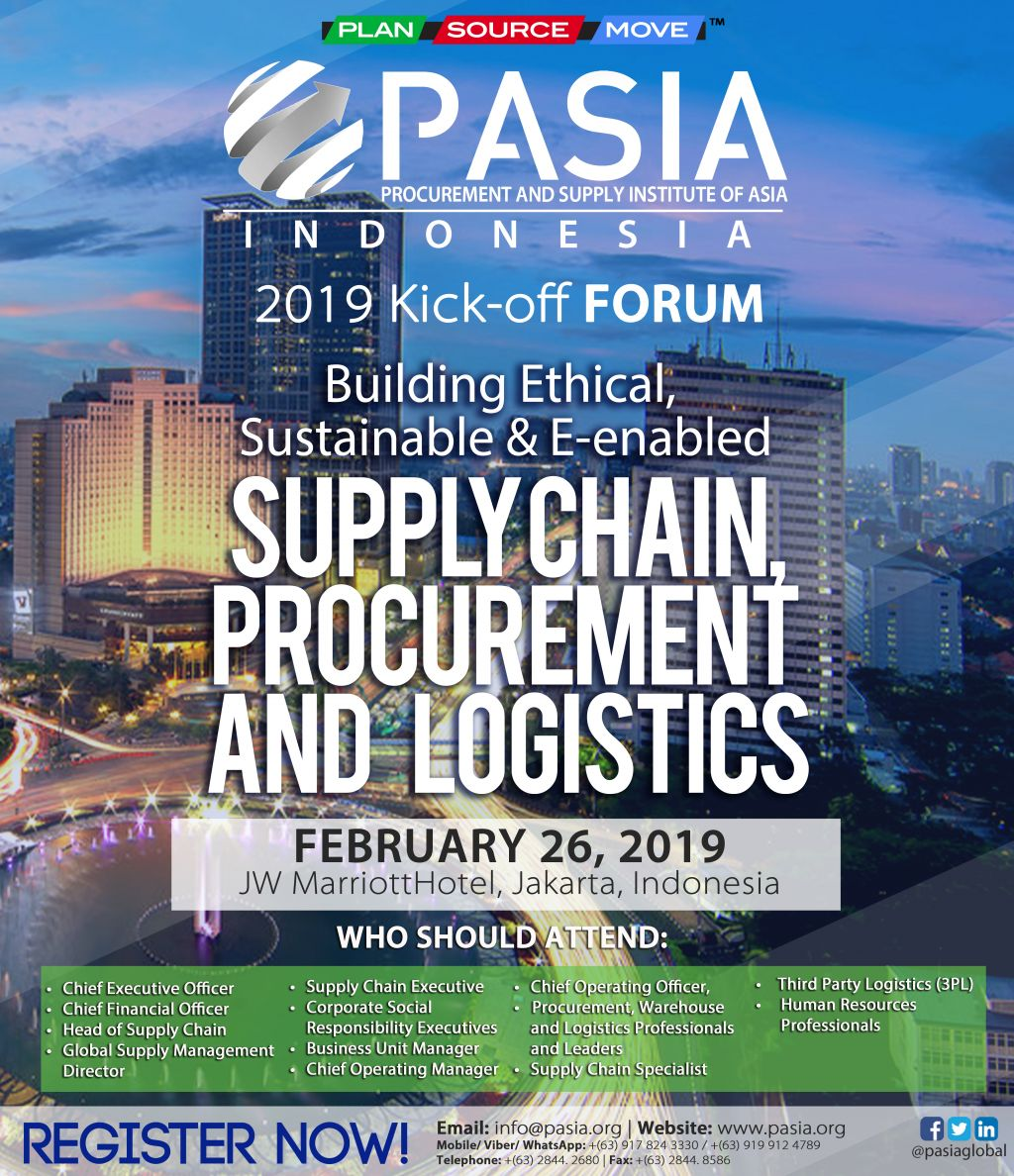 INDONESIA – PASIA | Procurement & Supply Institute of Asia